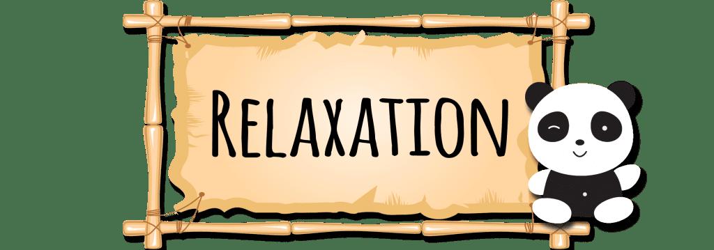 relaxation en creche