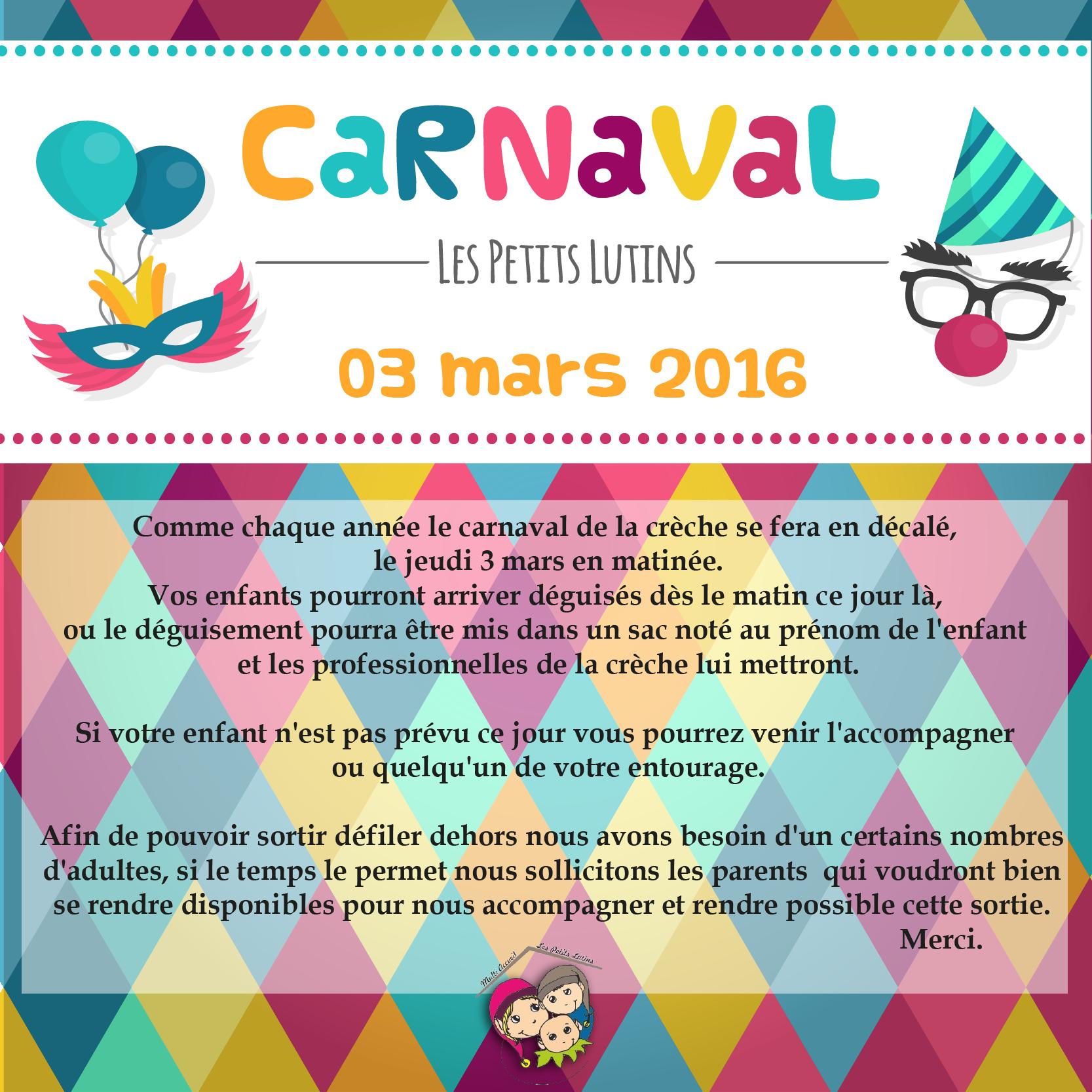 Carnaval des petits Lutins